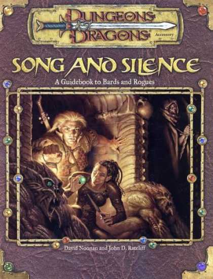 Bestselling Comics (2007) - Song and Silence: A Guidebook to Bards and Rogues (Dungeon & Dragons d20 3.0 Fan - Young Man - Young Woman - Ugly Creatures - Gems - Glowing Ball