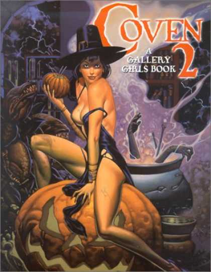 Bestselling Comics (2007) - Coven Volume Two: A Gallery Girls Book (Gallery Girls Collection) by NA - Witch - Coven - Gallery Girl Book - Pumpkin - Pot