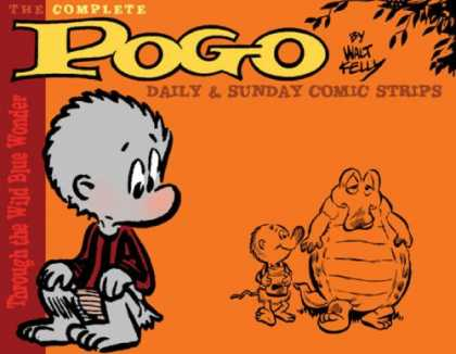"Bestselling Comics (2007) - Pogo: The Complete Daily & Sunday Comic Strips Vol. 1: ""Into the Wild Blue Wonde - Monkey - Crocodile - Duck - Orange - Tree"