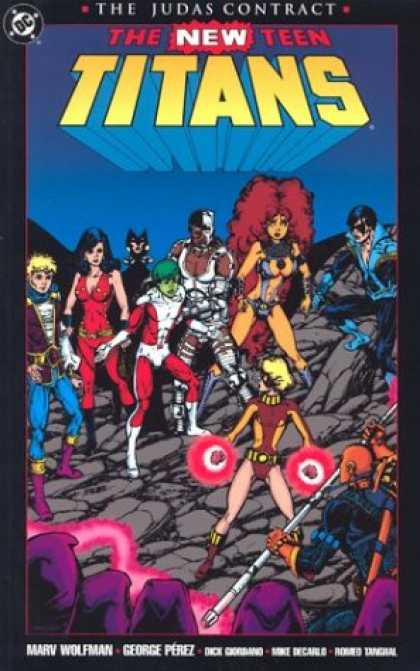 Bestselling Comics (2007) - New Teen Titans, The: The Judas Contract (New Teen Titans) by Marv Wolfman