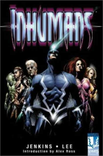 Bestselling Comics (2007) - The Inhumans (Marvel Comics, Fantastic Four) by Paul Jenkins