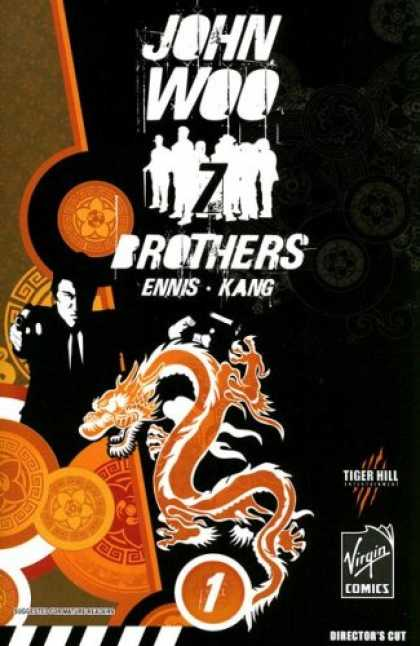 Bestselling Comics (2007) - John Woo's Seven Brothers: Sons of Heaven, Son of Hell by Garth Ennis - John Woo - 7 Brothers - Flower - Tie - Pistols