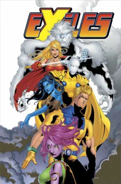 Bestselling Comics (2007) - Exiles Vol. 7: A Blink in Time (X-Men) by Chuck Austen
