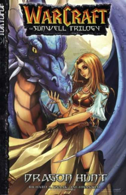 Bestselling Comics (2007) - Dragon Hunt (Warcraft: The Sunwell Trilogy, Book 1) by Kim Jae-hwan - Warcraft - Sunwell Trilogy - Blue Dragon - Dragon Hunt - Richard Jae-hwan