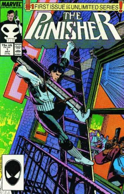 Bestselling Comics (2007) - Essential Punisher, Vol. 2 (Marvel Essentials) by Mike Baron - Marvel - 75c Us - 1 July - The Punisher - 1st Issue Of An Unlimited Series