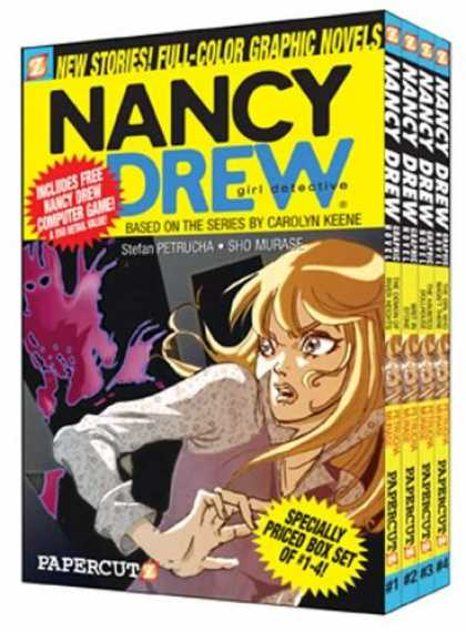 Bestselling Comics (2007) - Nancy Drew Boxed Set: Volumes 1-4 (Nancy Drew Graphic Novels: Girl Detective) by