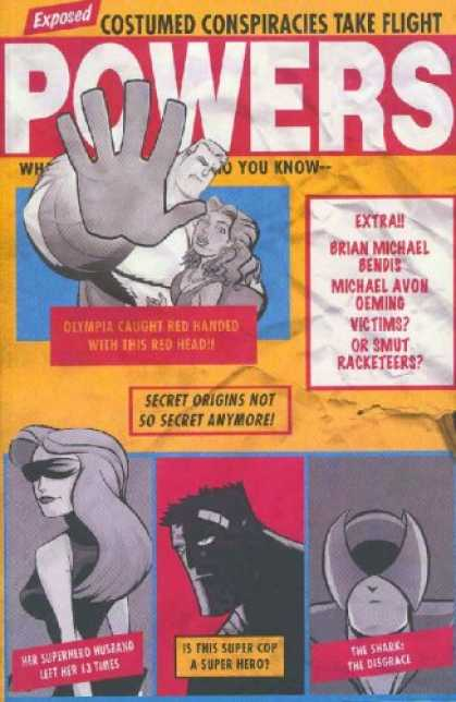 Bestselling Comics (2007) - Powers Volume 3: Little Deaths (Powers) by Brian Michael Bendis