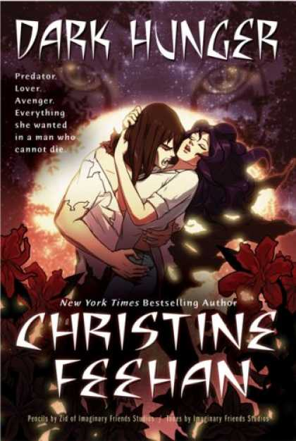 Bestselling Comics (2007) - Dark Hunger by Christine Feehan - Dark Hunger - Christine Feehan - New York Times Bestselling Author - Vampire - Eyes