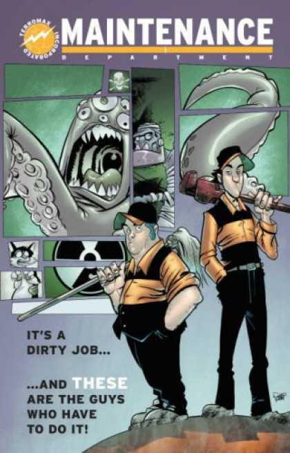 Bestselling Comics (2007) - Maintenance Volume 1: It's A Dirty Job (Maintenance Department) by Jim Massey