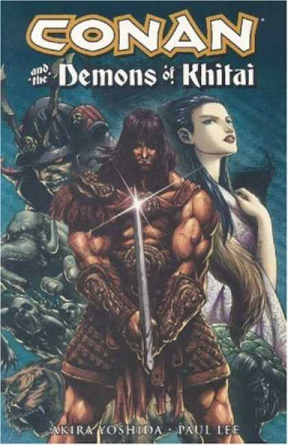 Bestselling Comics (2007) - Conan And The Demons Of Khitai (Conan (Graphic Novels)) by Akira Yoshida