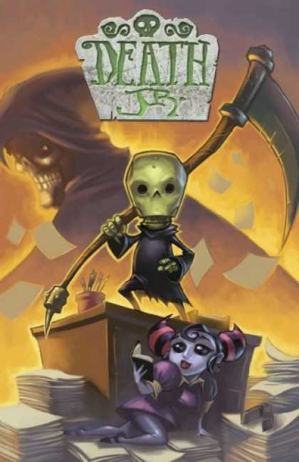 Bestselling Comics (2007) - Death Jr. Volume 2 by Gary Whitta