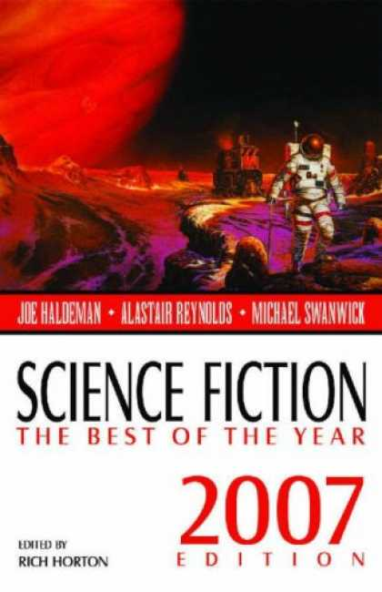 Bestselling Comics (2007) - Science Fiction: The Best of the Year, 2007 Edition (Science Fiction: The Best o - Astronaut - Rich Horton - Space Walk - Castles - Fire In The Sky
