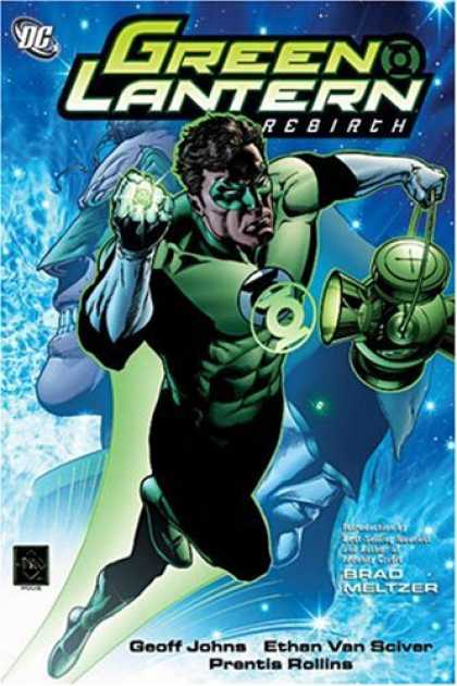 Bestselling Comics (2007) - Green Lantern: Rebirth by Geoff Johns - Green Lantern - Justice League - Green Mask - Green Cape - Ring