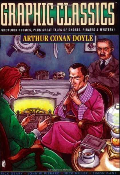 Bestselling Comics (2007) - Graphic Classics, Vol. 2: Arthur Conan Doyle, Second Edition by Arthur Conan Doy - Arthur Conan Doyle - Sherlock Holmes - Ghosts - Pirates - Mystery