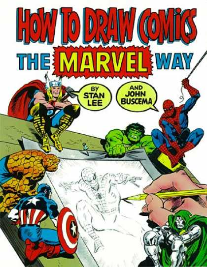 Bestselling Comics (2007) - How to Draw Comics the Marvel Way by Stan Lee