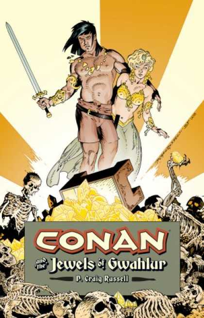 Bestselling Comics (2007) - Conan and the Jewels of Gwahlur by P. Craig Russell