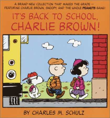 Bestselling Comics (2007) - It's Back to School, Charlie Brown! (Peanuts Classics) by Charles M. Schulz - Back To School - Charlie Brown - Charles M Schulz - Bus - Child