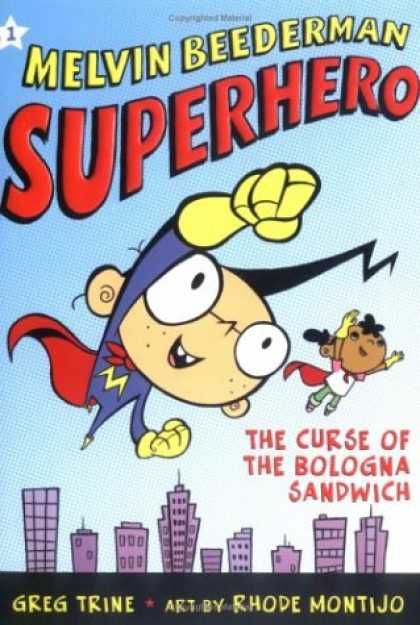 Bestselling Comics (2007) - Curse of the Bologna Sandwich, The (Melvin Beederman, Superhero) by Greg Trine - Melvin Beederman - The Curse Of Bologna Sandwich - Greg Trine - Rhode Montijo - Building
