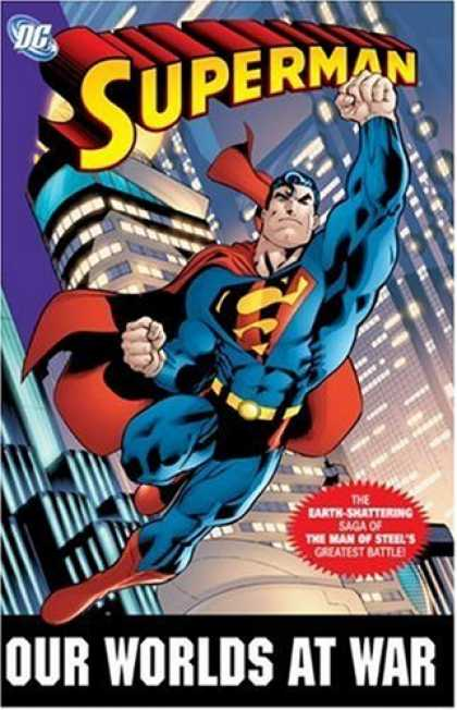 Bestselling Comics (2007) - Superman: Our Worlds at War Omnibus by Jeph Loeb - Superman - Buildings - Muscles - Brief - Belt