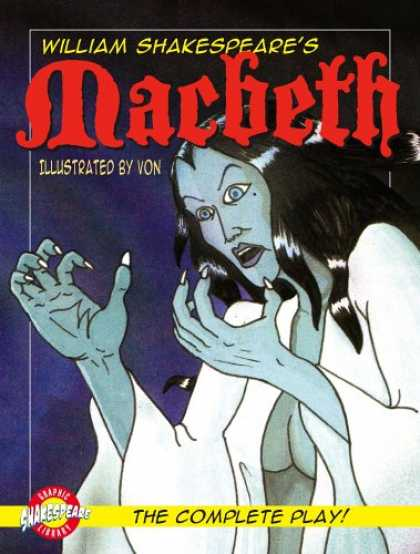 Bestselling Comics (2007) - Macbeth (Graphic Shakespeare) (Shakespeare Graphic Library) by William Shakespea - William Shakespeare - Machbeth - Illustrated By Von - The Complete Play - Woman