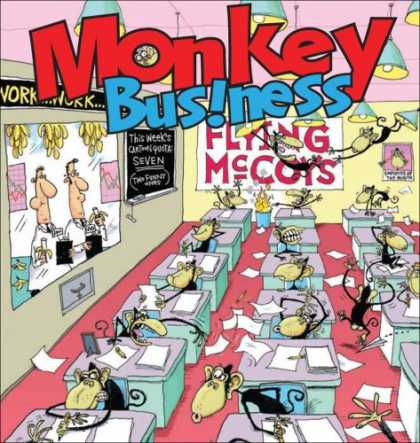 Bestselling Comics (2007) - Monkey Business: A Flying McCoys Collection by Glenn McCoy