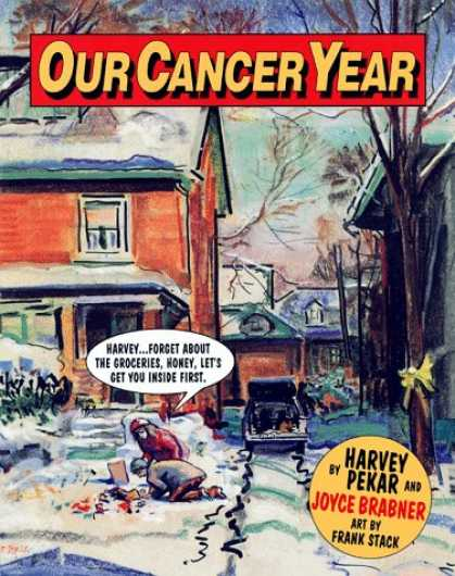 Bestselling Comics (2007) - Our Cancer Year by Harvey Pekar - Harvey Pekar - Joyce Brabner - Snow - Collapse - Groceries