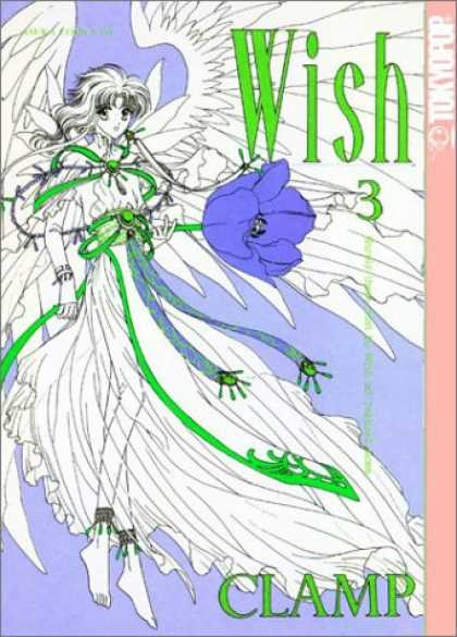 Bestselling Comics (2007) - Wish #3 by Clamp - One Girl - White - Flower In Hand - Clamp - Wish
