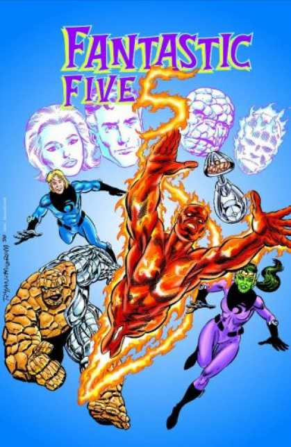Bestselling Comics (2007) - Spider-Girl Presents Fantastic Five, Vol. 1: In Search of Doom (Spider-Man, Fant