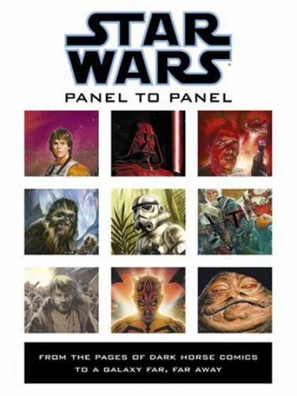 Bestselling Comics (2007) - Panel to Panel: From the Pages of Dark Horse Comics to a Galaxy Far, Far Away (S - Star Wars - Galaxy - Yoda - Dark Vader - Jedi