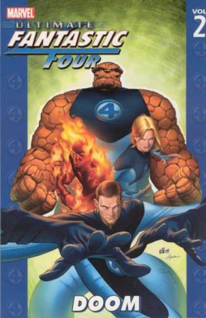 Bestselling Comics (2007) - Ultimate Fantastic Four Vol. 2: Doom by Warren Ellis - Marvel - Volume 2 - Fantastic Four - Doom - Blonde