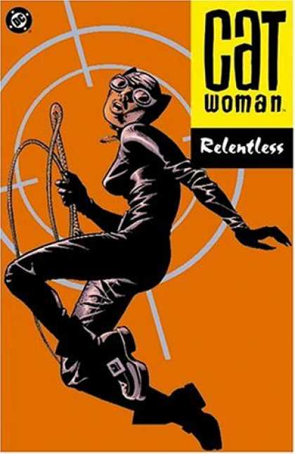 Bestselling Comics (2007) - Catwoman Vol. 3: Relentless (Batman) by Ed Brubaker - Catwoman - Whip - Meow - Target - Goggles