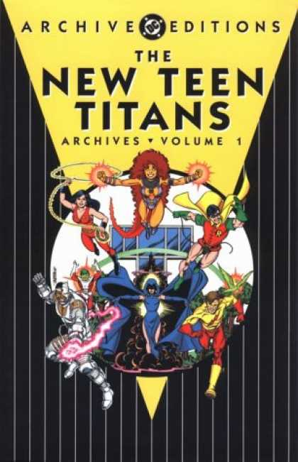 Bestselling Comics (2007) - The New Teen Titans Archives, Vol. 1 (DC Archive Editions) by Marv Wolfman