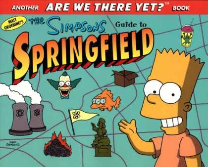 Bestselling Comics (2007) - The Simpsons Guide to Springfield by Matt Groening