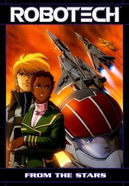Bestselling Comics (2007) - Robotech - From the Stars by Tommy Yune - Robotech - From The Stars - Anime - Fighter Starships - Black Woman White Man