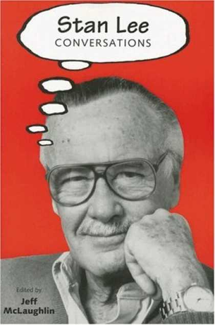 Bestselling Comics (2007) - Stan Lee: Conversations (Conversations With Comic Artists Series) - Jeff Mclaughin - Glasses - Watch - Mustache - Sweater