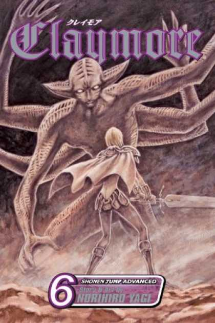Bestselling Comics (2007) - Claymore, Volume 6 (Claymore) by Norihiro Yagi - Arms - Sword - Ears - Cape - Boots