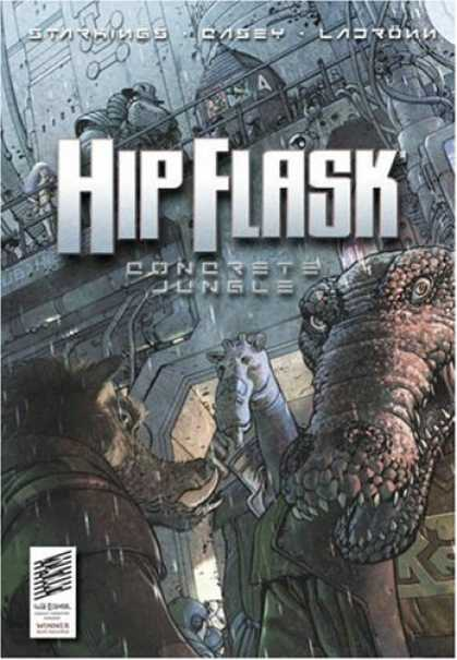 Bestselling Comics (2007) - Hip Flask: Concrete Jungle (The Big Here & the Long Now) by Richard Starkings - Jungle - Creatures - Horns - Teeth - Scales