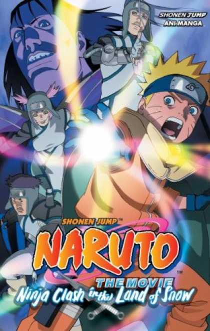 Bestselling Comics (2007) - Naruto The Movie Ani-Manga: Ninja Clash in the Land of Snow (Naruto) by Masashi
