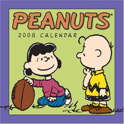 Bestselling Comics (2007) - Peanuts: 2008 Mini Wall Calendar by Charles Schulz