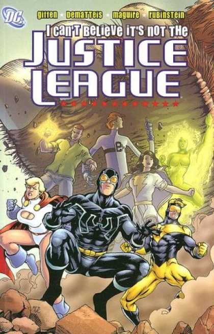 Bestselling Comics (2007) - Justice League: I Can't Believe It's Not the Justice League by Keith Giffen - I Cant Believe Its Not The Justice League - Gitten - Dematteis - Maguire - Rubinstein