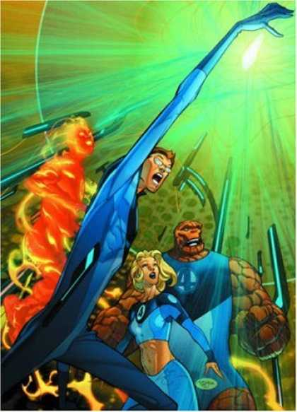Bestselling Comics (2007) - Ultimate Fantastic Four Volume 4 HC (Ultimate) by Mike Carey