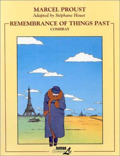 Bestselling Comics (2007) - Remembrance of Things Past: Combray (Remembrance of Things Past) by Stephane Heu - Paris - Eiffel Tower - Man Walking - Trench Coat - Sky