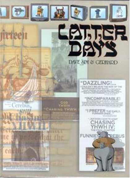 Bestselling Comics (2007) - Latter Days by Dave Sim - Dazzling - Televison - Days - Chasing - Funnies