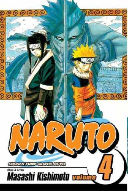 Bestselling Comics (2007) - Naruto, Vol. 4 - Story - Art - Headband - Novel - Volume