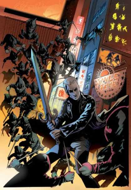 Bestselling Comics (2007) - Spike: Shadow Puppets (Spike) by Brian Lynch - Japanese - Sword - Mafia - Ninja - Shadows