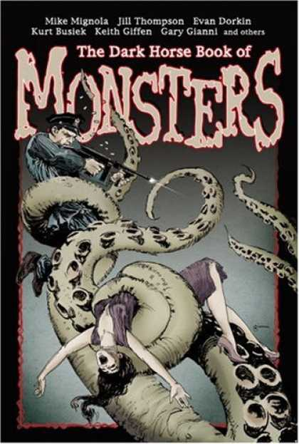 Bestselling Comics (2007) - The Dark Horse Book Of Monsters by Mike Mignola - Keith Giffen - Gary Gianni - Evan Dorkin - Octopus - Tentacles