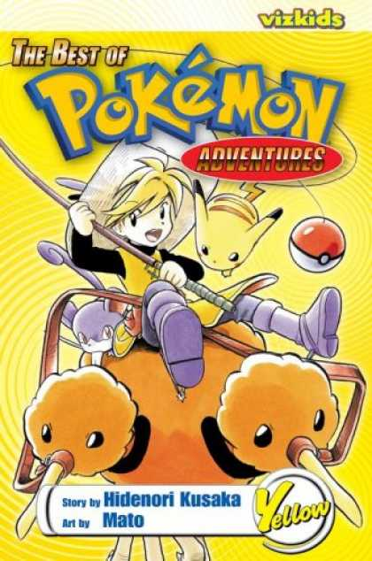 Bestselling Comics (2007) - The Best of Pokemon Adventures: Yellow: Yellow (Best of Pokémon Adventures) b - Vizkids - Adventures - Yellow - Hidenori Kusaka - Mato