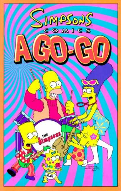Bestselling Comics (2007) - Simpsons Comics A-Go-Go by Matt Groening
