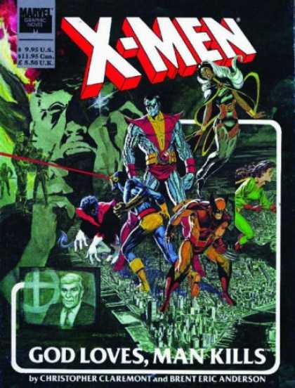 Bestselling Comics (2007) - X-Men: God Loves, Man Kills (Marvel Premiere Classic) by Chris Claremont - X-men - God Loves - Man Kills - Christopher Claremont - Brent Eric Anderson