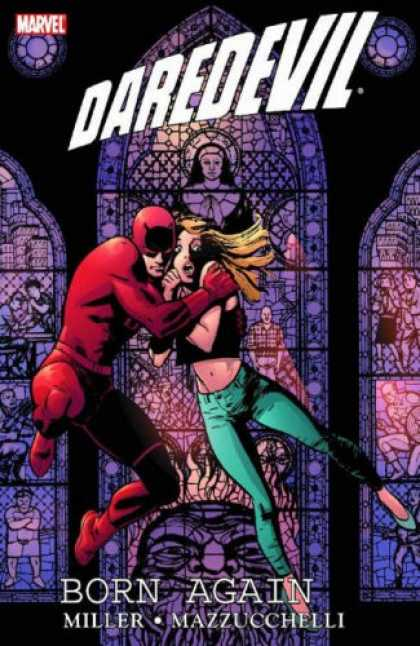 Bestselling Comics (2007) - Daredevil By Frank Miller Omnibus Companion HC by Frank Miller - Frank Miller - David Mazzucchelli - Born Again - Marvel - Karen Page